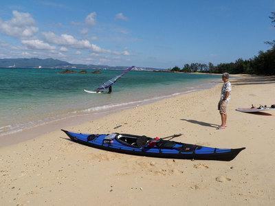 沖縄 幸貴ビーチ フェザークラフト ウィスパー