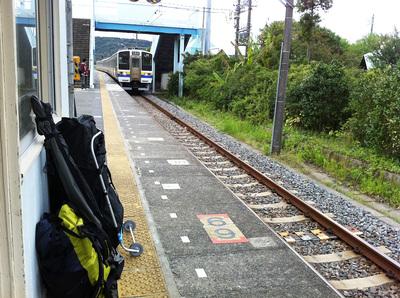 富浦駅 カヤック