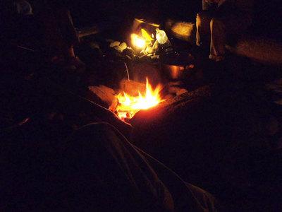 奥石廊 キャンプ