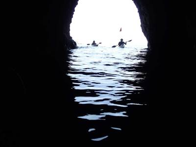 田子 海蝕洞