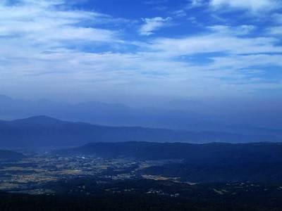 茶臼山 御嶽山