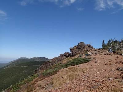 茶臼山 展望台