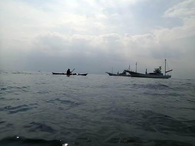 宮川湾 2艘びき