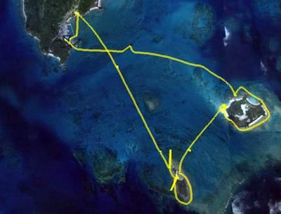 浜比嘉島 浮原島 南浮原島