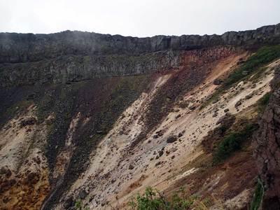 硫黄岳 爆裂加工