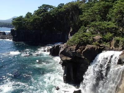 城ヶ崎 対馬の滝