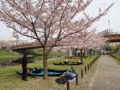 小松川公園 カヌー