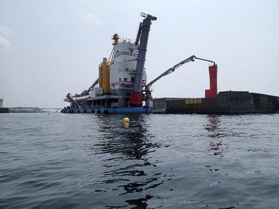 三崎 堤防 修理