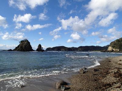 タライ岬遊歩道 逢ヶ浜