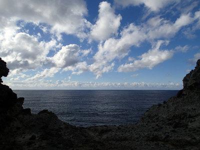 タライ岬遊歩道 タライ岬 盥岬 荒神