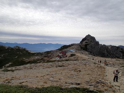 木曽駒ヶ岳 中岳