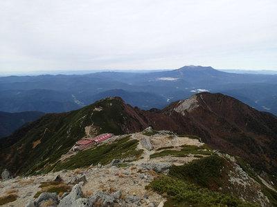 木曽駒ヶ岳 頂上木曽小屋