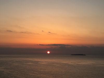 初島 日の出