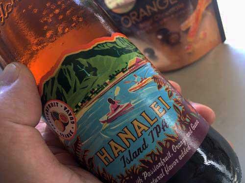 ハナレイ湾 ビール