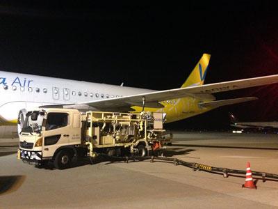中部国際空港 給油
