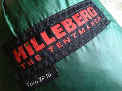 ヒルバーク -HILLEBERG- Tarp XP 10