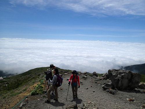 茶臼岳 雲海