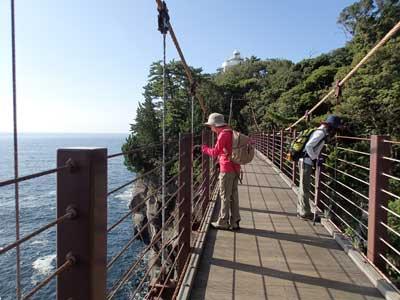 城ヶ崎 門脇吊橋